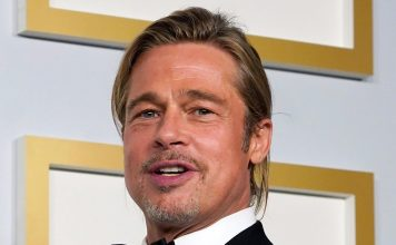 twitter-is-freaking-out-over-brad-pitt's-man-bun-at-the-oscars